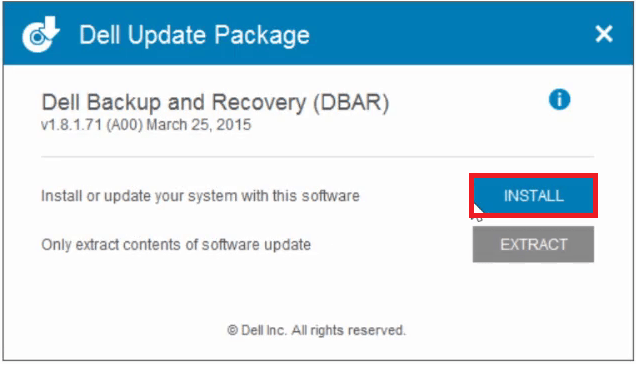 Dell Backup and Recovery 1 9 2 8 - Windows 8 1/7 - Windows 10