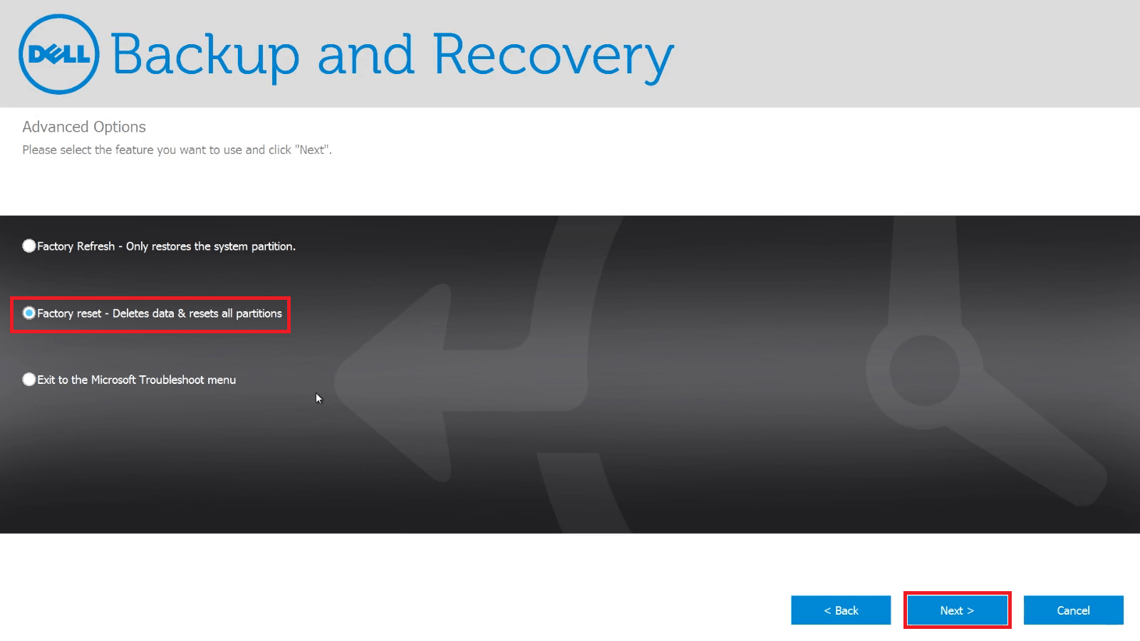 Dell Xps 8500 Recovery Partition Windows 8 Dell Recovery