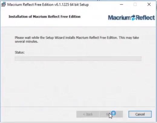 macrium reflect 7 free edition business use