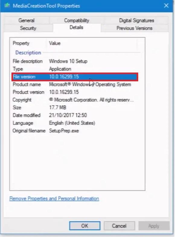 Download Windows 10 Version 1709 Build 16299 Fall Creator's