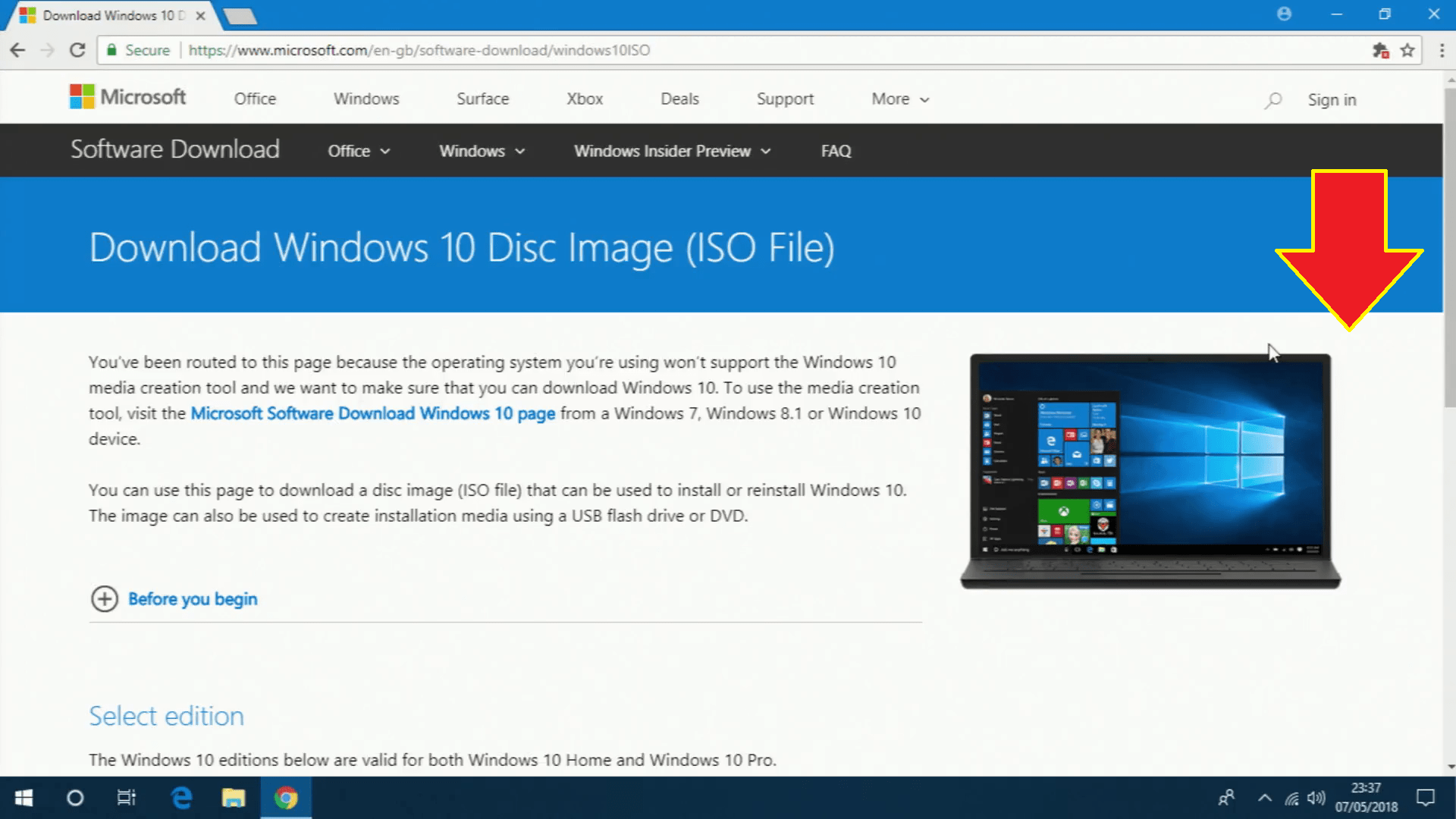 windows 10 1803 iso download microsoft