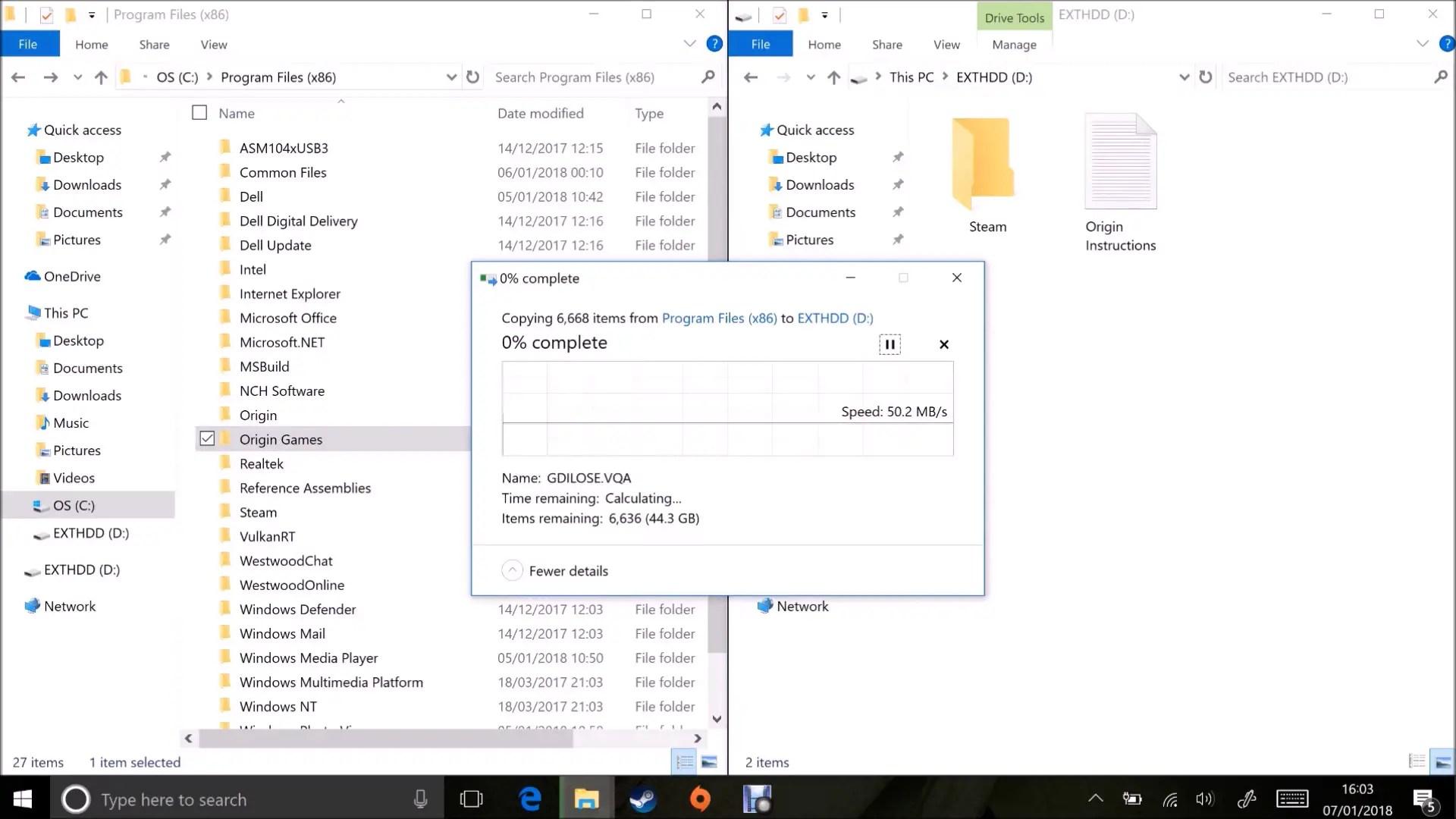 Moving EA Origin (Origin Games) to a New Windows Installation