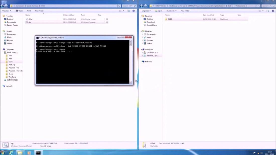 Windows 7 64 Bit Installation on a UEFI BIOS (Up to 6th Generation