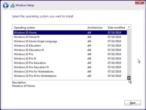Windows 10 Version 1909: Clean Install - Windows 10 ...