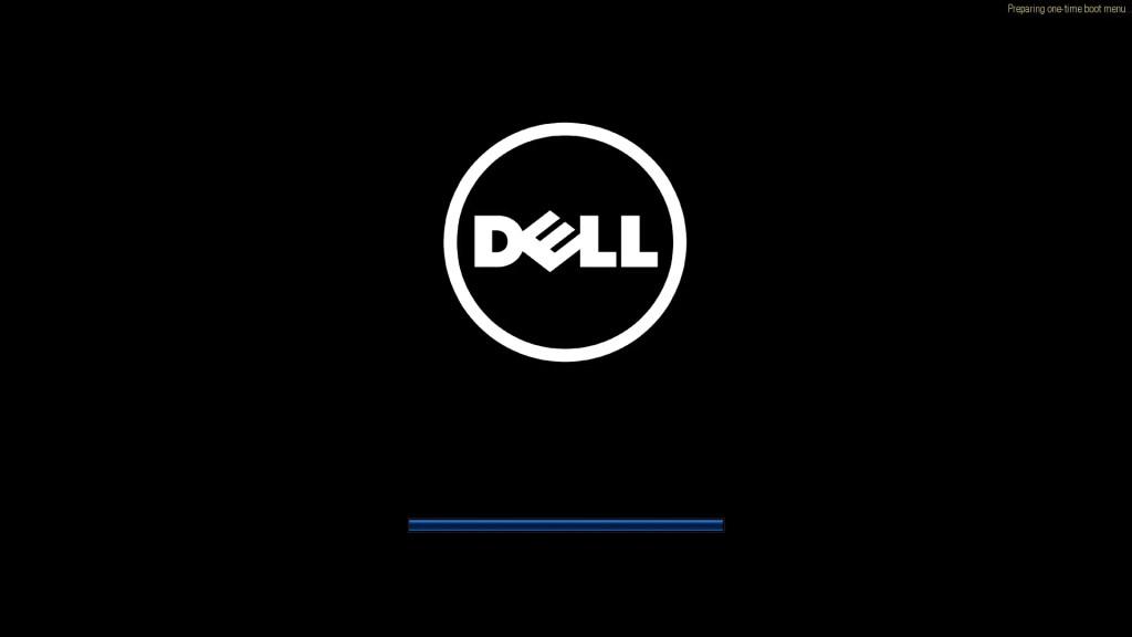 Dell UEFI BIOS Boot Menu press F12