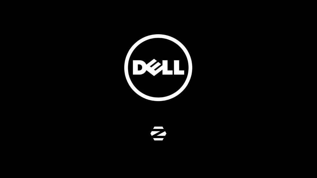 Dell UEFI BIOS and Zorin OS Logo.