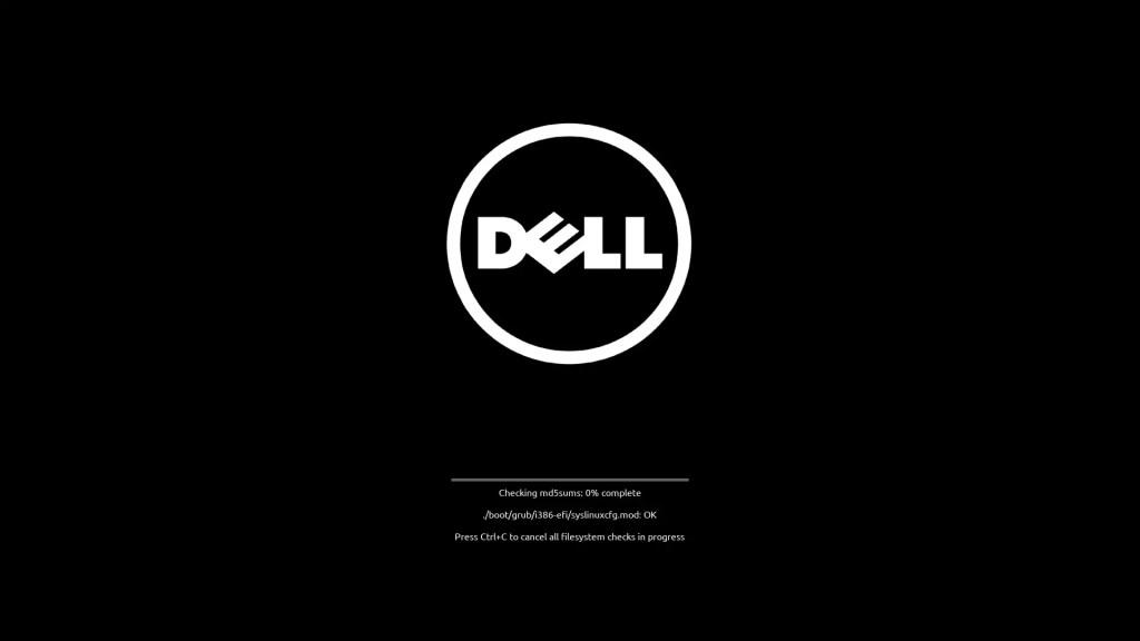 Dell Zorin OS Check Installation Media File Integrity.
