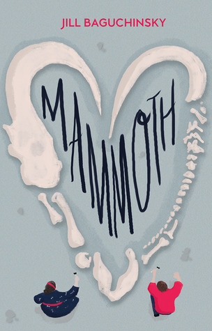 Mammoth, body positive, YA Contemporary novel. Book cover.