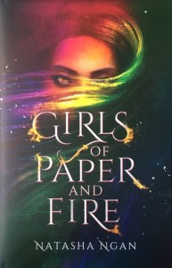 Girls of Paper and Fire, YA Fantasy, Book Cover