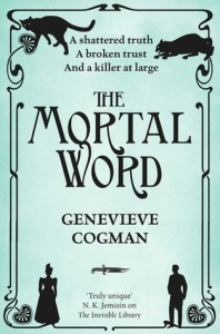 The Mortal Word, Fantasy novel, Book cover