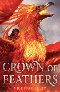 Crown of Feathers Book Cover by Nick Pau Preto