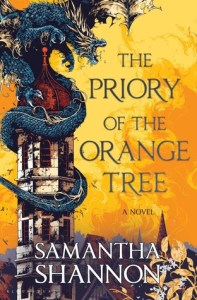 The Priory of the Orange Tree by Samantha Shannon Book Cover