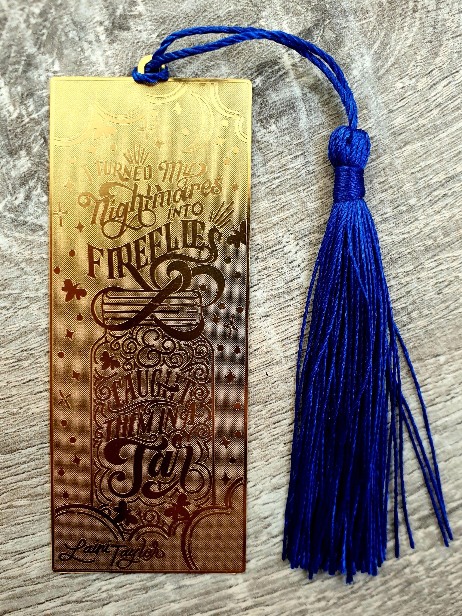 FairyLoot March Metal Bookmark