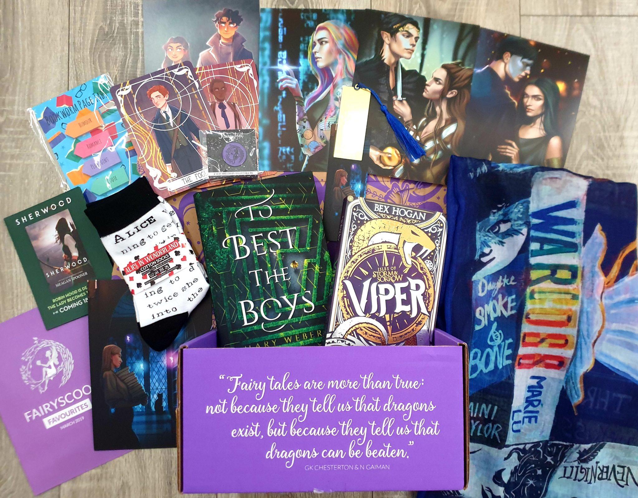 FairyLoot March 3 Year Anniversary Box