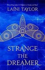 Strange the Dreamer by Laini Taylor. Book cover