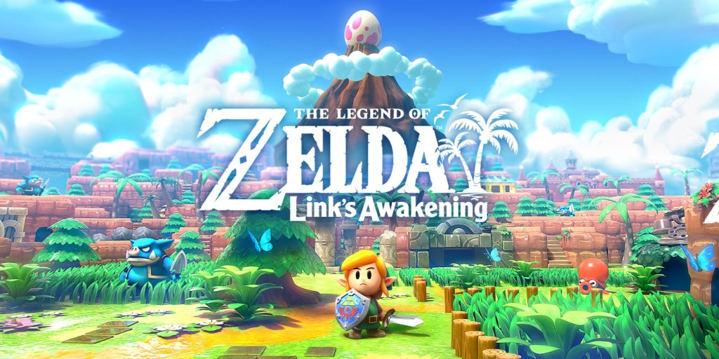 Zelda Link's Awakening. Nintendo Switch Games