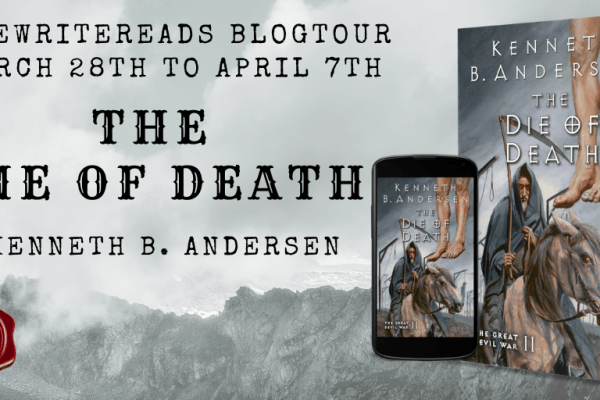 The Die of Death by Kenneth B. Anderson Blog Tour banner