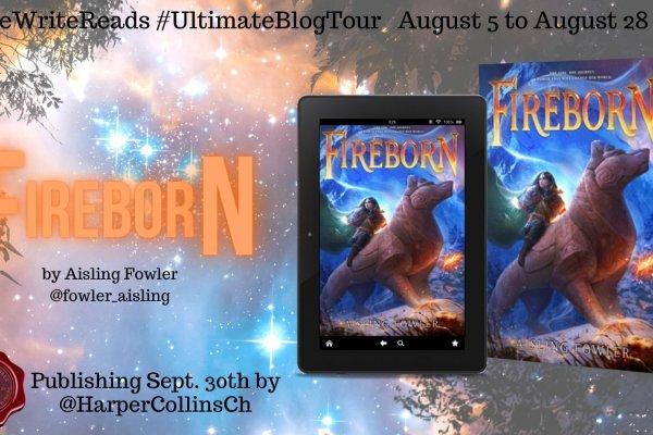 Fireborn Review & Blog Tour Banner
