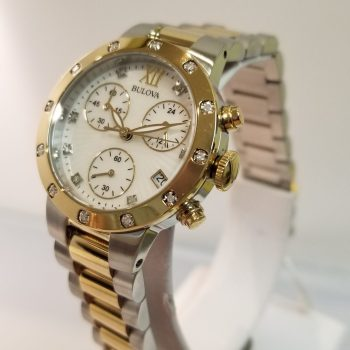 Bulova Ladies Maiden Lane Diamond