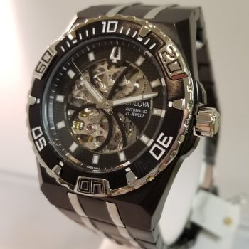 Bulova Marine Star Mechanical Skeleton
