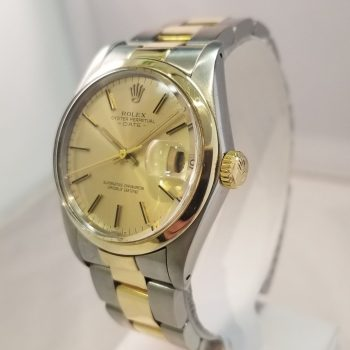 Rolex Oyster Perpetual Date Two -Tone 34mm