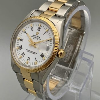 Rolex Oyster Perpetual Date – Yellow Gold & Stainless Steel