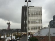 The Carpenters Toer block - note the Olympic stadium in the back left