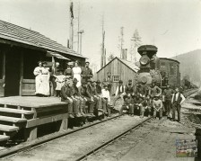 Train & Crew, Camp 5, Fort Dick