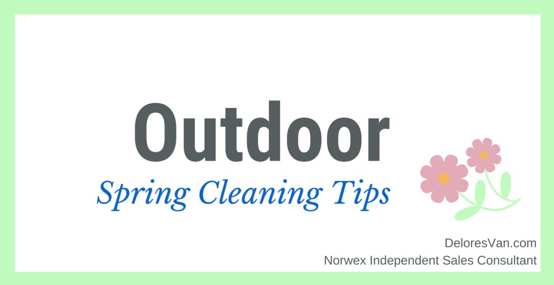 Outdoor Spring Cleaning