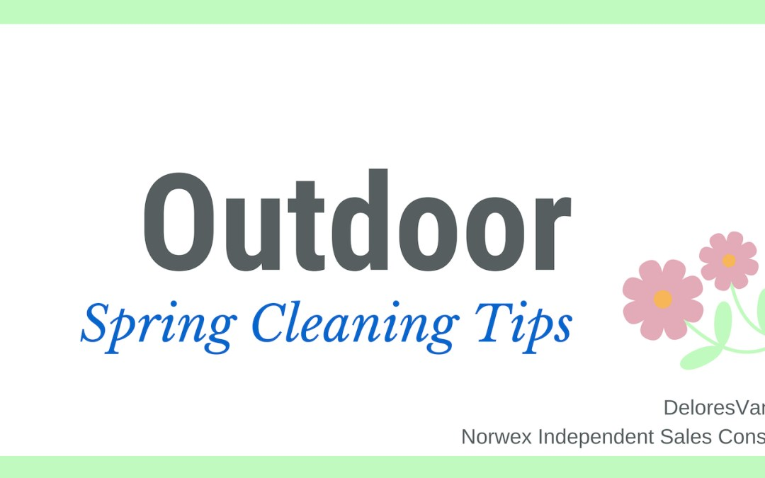 Spring Clean Your Outdoors with Norwex
