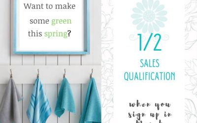 Join Norwex in March with 1/2 Sales Qualification!