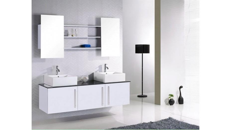 meuble bas de salle de bain cuba