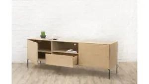 meuble en bois massif decoration