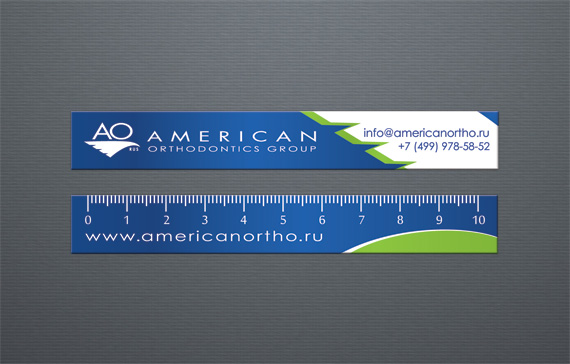 Дизайн ортодонтических линеек для «Amercan Orthodontics Group»