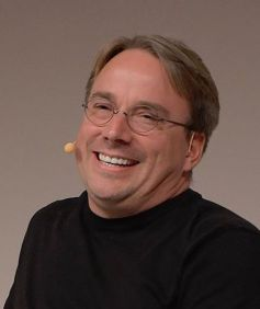 Linus Torvalds (photo by Krd)
