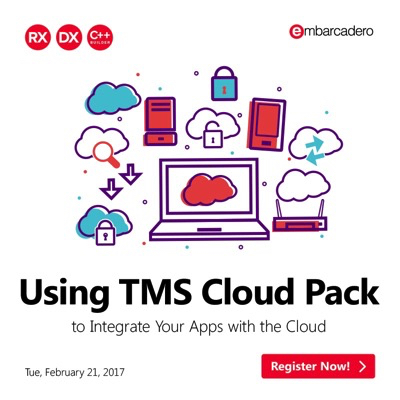 Using TMS Cloud Pack to Integrate Your Apps with the Cloud | The