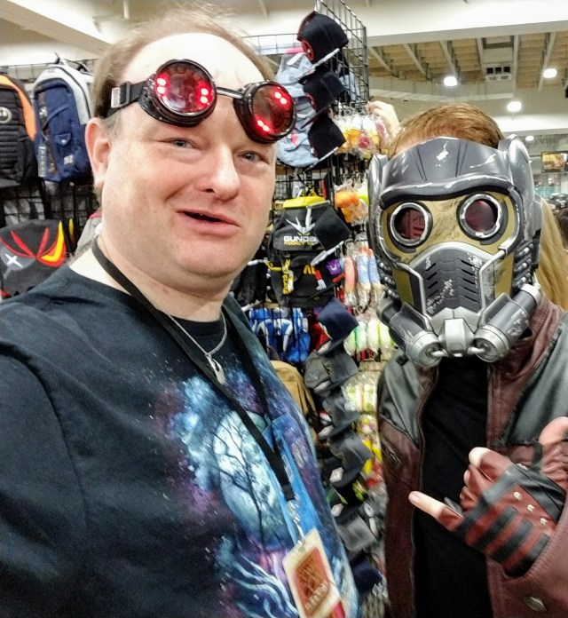 I met Star Lord!