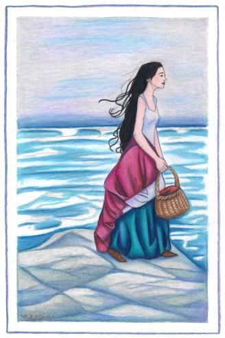 delphina rose | by Rebecca Elam