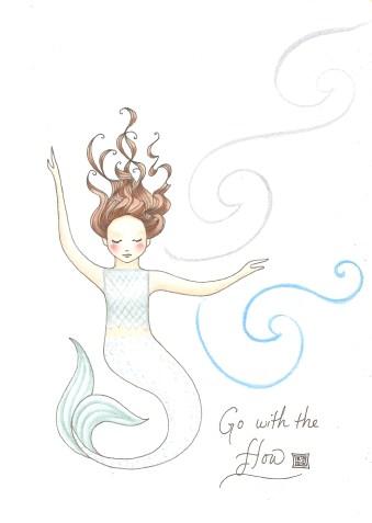 go with the flow--Rebecca Górzyńska--Delphina Rose