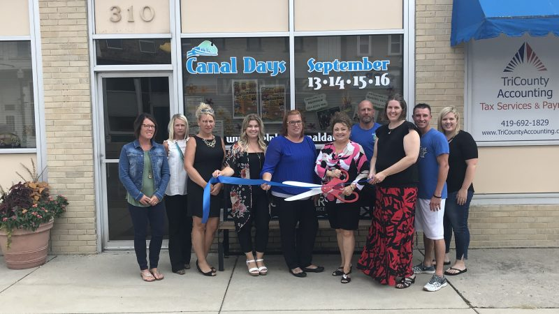 Ribbon Cuttin Delphos Aware