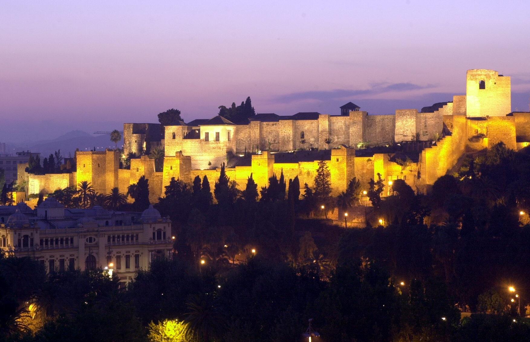 Proyecto de iluminación de La Alcazaba