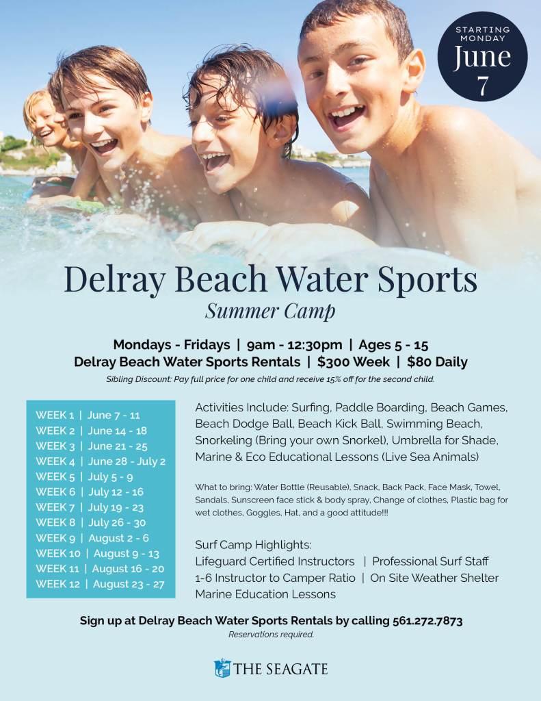 Delray Beach Water Sports Summer Camp