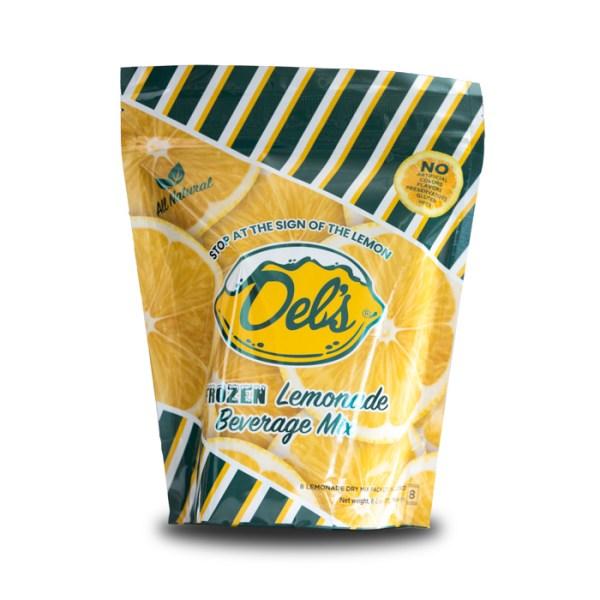 Dels Frozen Beverage Mix 4 Pack Lemon