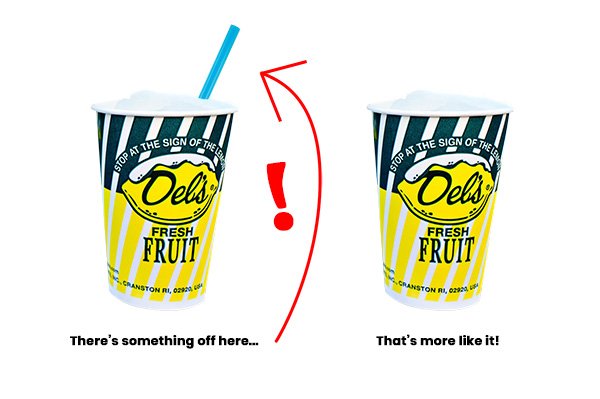 How to drink a Del's Lemonade
