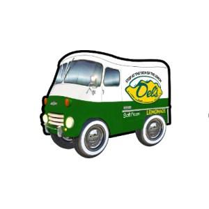 Del's Lemonade Truck Sticker