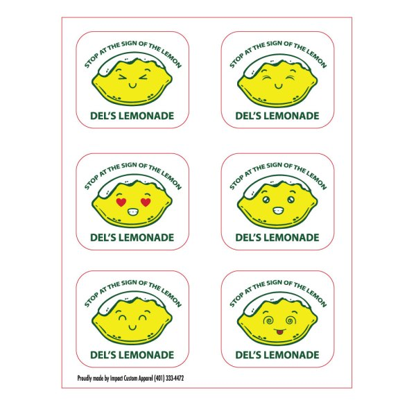 Lemoticon Stickers