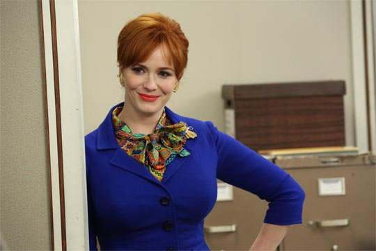 Mad Men  6x07 - Man with a Plan - Christina Hendricks