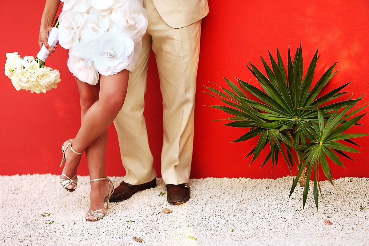 Mexico Destination Wedding Casa Buena Suerte Riviera Maya