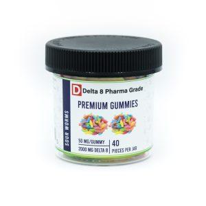 Premium delta 8 THC gummies
