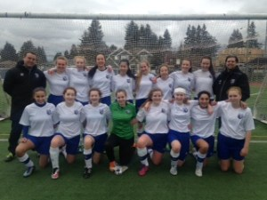 U15 DCS Girls are 2016 League Champions!
